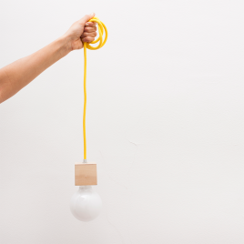 LAMP SHE AMARILLA